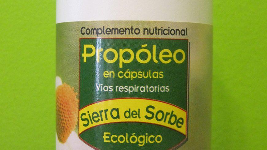 Propóleo Ecologico en cápsulas