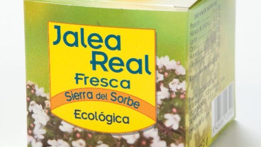 Jalea Real Fresca Ecológica Sierra del Sorbe 25 gr.