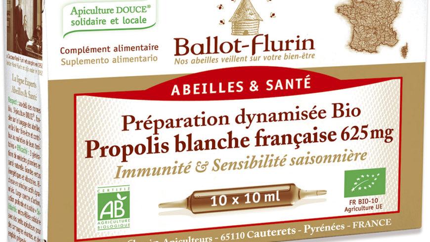 Propóleo blanco francés 625 mg