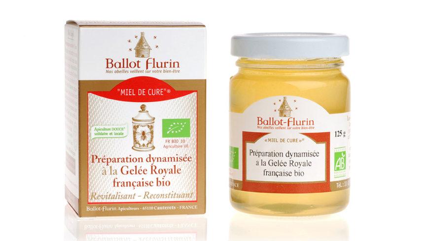 Preparación dinamizada con jalea real francesa ecológica