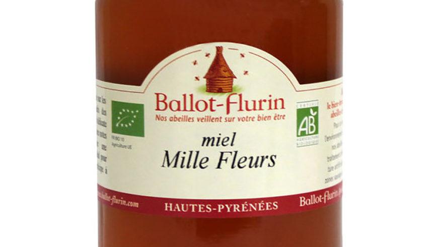 Miel ecológica de Mil Flores 500g