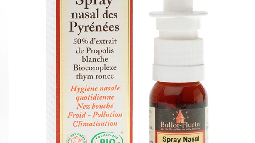 Spray nasal isotónico ecológico de los Pirineos