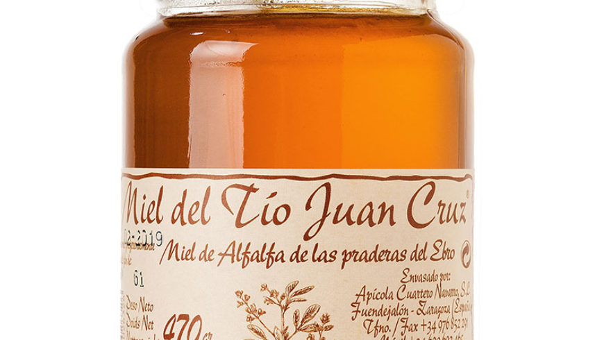 Miel de Alfalfa de las Padreras del Ebro