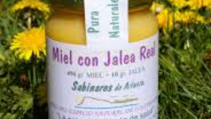 Miel con Jalea Real 500gr Sabinares de Arlanza