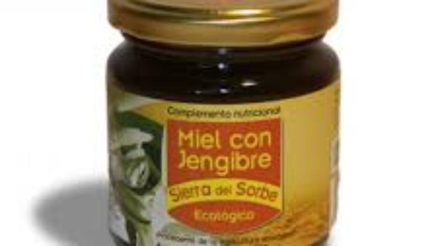 Miel con Jengribe Ecológico 250gr