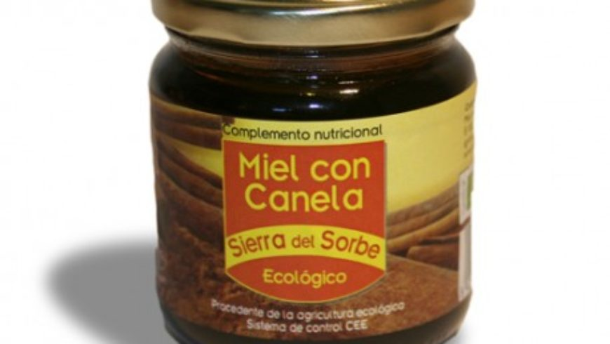 Miel con Canela ecológica 250gr