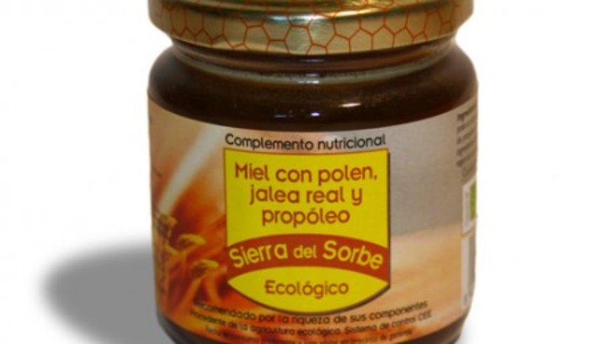 Miel con Polen, Jalea Real y Propóleo 250gr